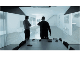 VR技术惊艳亮相衣柜展 欧派引领科技新潮流